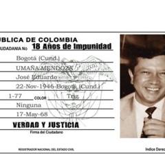Solicitan a Fiscalía declarar asesinato de Eduardo Umaña Mendoza crimen de lesa humanidad