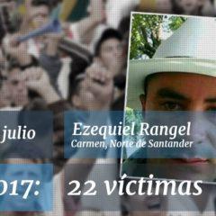 La continua tragedia de los defensores de derechos humanos