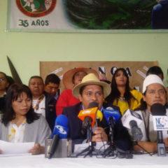 Minga Nacional Indígena por la Vida convoca a Negociación Nacional al Gobierno Santos