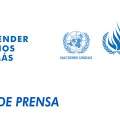 ONU Derechos Humanos expresa preocupación por homicidios, estigmatización y hostigamientos a defensores y defensoras de derechos humanos en Colombia
