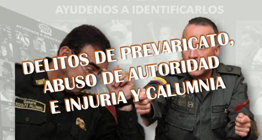 Audiencia de preclusión en proceso que se adelanta contra los Generales (r) Rodolfo Palomino y Luis Eduardo Martínez