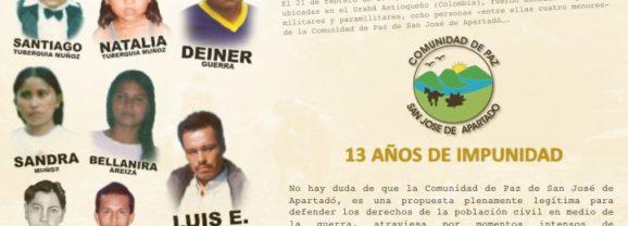 Masacre del 21 de febrero de 2005 en la Comunidad de Paz de San José de Apartadó