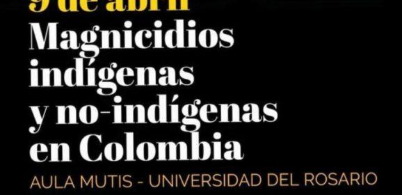 Magnicidios indígenas y no-indígenas en Colombia