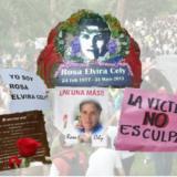 Continua el proceso por el feminicidio de Rosa Elvira Cely