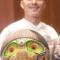 Germán Graciano de la Comunidad de Paz de San José de Apartado ganador en la categoría Defensor del Año del Premio Nacional a la defensa de los DH