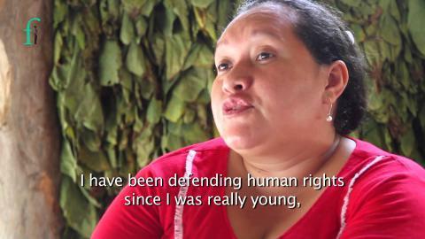 [DENUNCIA PÚBLICA]: Nuevas amenazas contra la defensora de derechos humanos en Sucre Ingrid Vergara