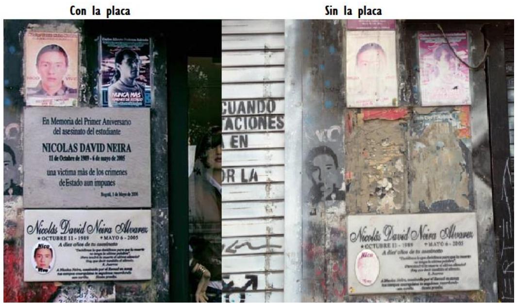 Continua el memoricidio en Colombia