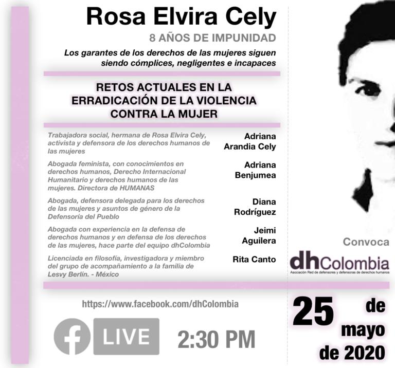 Conversatorio: Retos actuales en la erradicación de la violencia contra la mujer