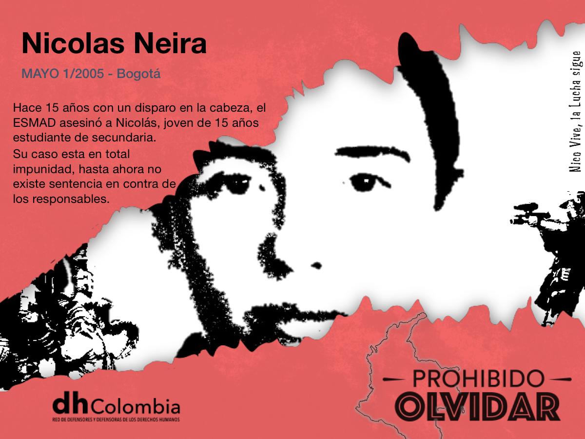 15 años de impunidad!!! Nico Vive, la lucha sigue!!!