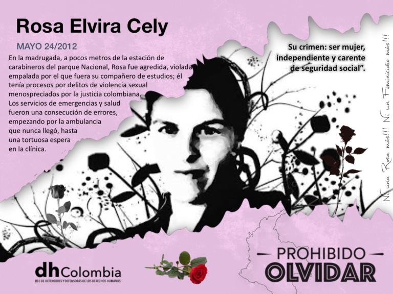 Rosa Elvira Cely – 8 años de impunidad