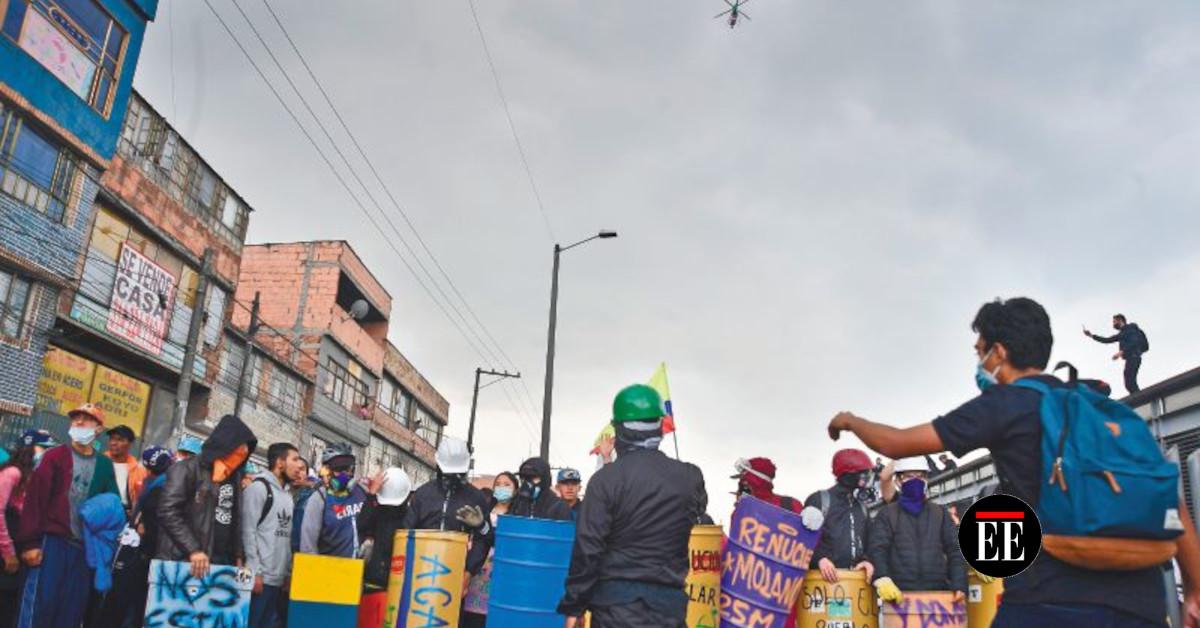 Lo que ha pasado con la Primera Línea en Bogotá